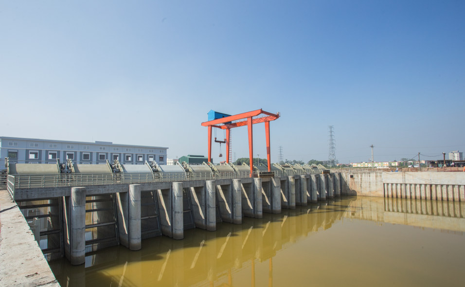 Name of Project: Supplying and installing automatic garbage removal system of Yen Nghia drainage pump station, Hanoi city